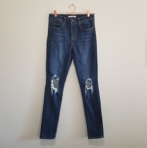 Levi's 721 high rise skinny Jean's (a)